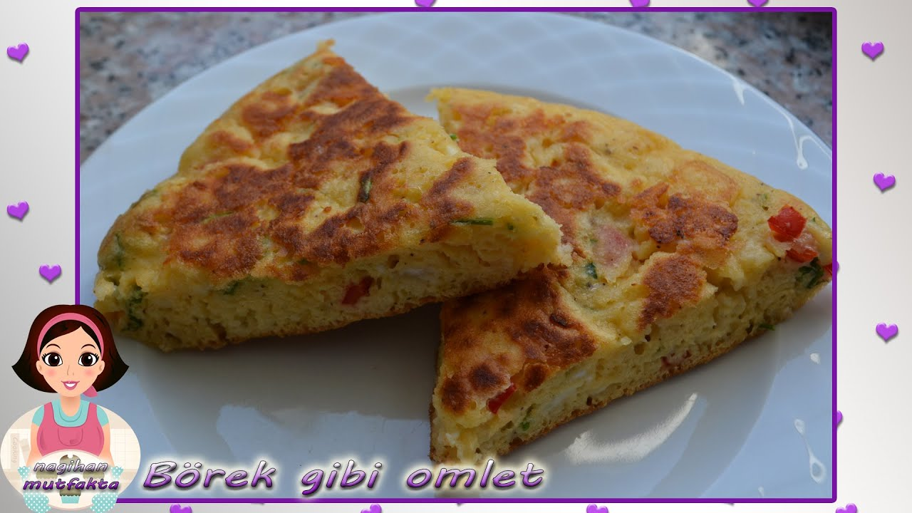 Peynirli Omlet Tarifi