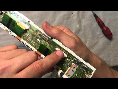BMW 1 and 3 series e90/e93, e81/e87  DIY   Professional CD73 replacement display  pixel repair