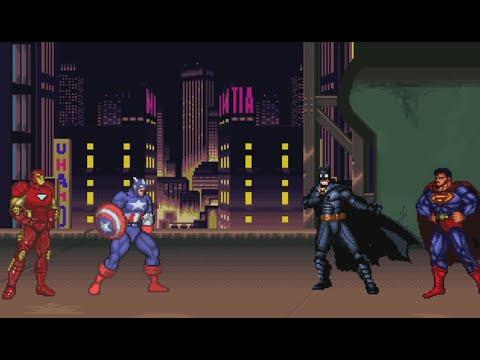 batman v superman v iron man v captain america dawn of civil war youtube batman superman iron man