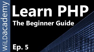 Learn PHP - PHP Programming Tutorial - 5 Mp3
