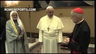 Francisco recibe a representantes de todas las religiones de Irak: Rezad por la paz