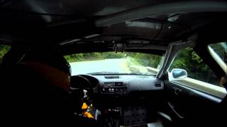 Alex Mirea - VTM Teliu 2012 - Antrenamente - Honda Civic ek Gr.N2