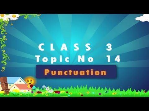Punctuation | Punctuation In English Grammar | Punctuation For Kids | Grade 3