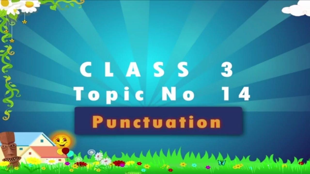 Worksheet Grade Three English learn grade 3 english grammar punctuation youtube punctuation