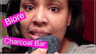 Best Daily Facial Cleanser - Biore Charcoal Soap Bar Review