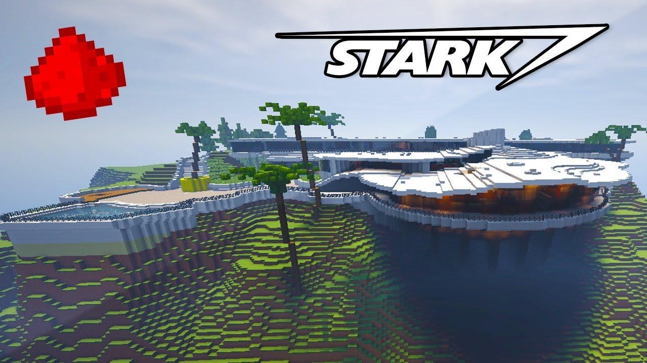 Stark Mansion In Minecraft W