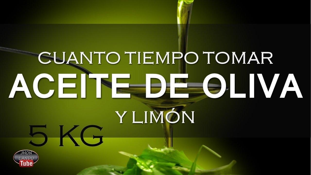 limon y aceite de oliva para adelgazar
