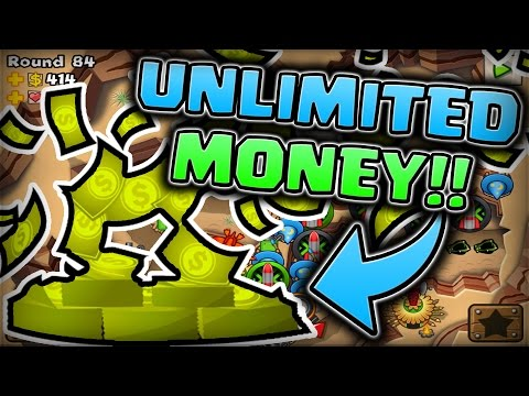 MODDING BLOONS TD5 GETTING 1,000,000,000 MONEY ROUND 250 CHALLENGE!!!! (w/JeromeASF)