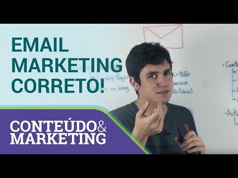Como fazer email marketing da maneira correta - Conteúdo e Marketing