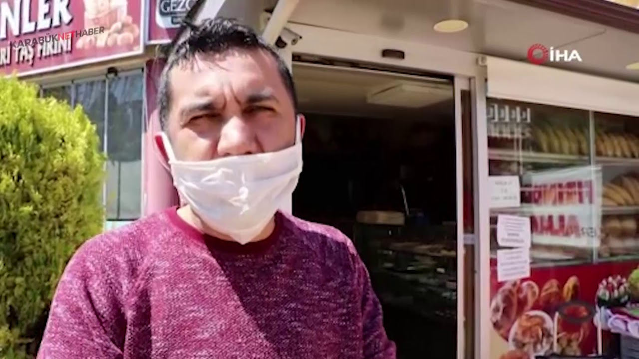İŞİNİ KAYBEDENLERE ÜCRETSİZ EKMEK DAĞITIYOR - YouTube