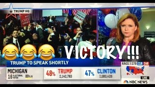 The moment NBC NEWS realizes that DONALD TRUMP will actually WIN THE ELECTION!!