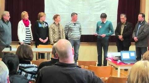 Kylien ja koulujen puolesta 10.4.2014 Rantasalmella (Yle Etelä-Savon radio haastattelu)