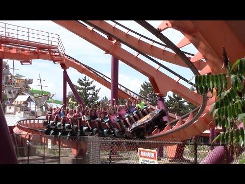 Raging Bull Off-Ride Six Flags Great America HD 60fps