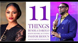 11 Things Busola Dakolo Knew Before Going Public Against COZA Pastor Biodun Fatoyinbo