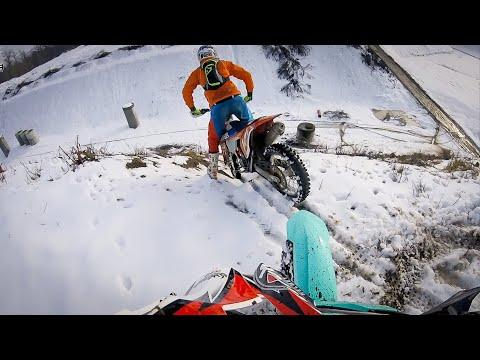 ❄️Snow Enduro Winterwonderland Part 1❄️Crazy KTM 💙 Enduro_Motocross 🔰Dirtbike FreaX🔰
