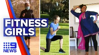 Government initiative encourages women to embrace fitness | 9 News Australia