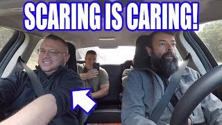 Scaring Veterans In A Supercharged Cop Car! Happy Veterans Day!