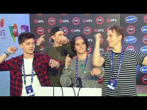 The Vamps Band At Global Citizen India 2016 - Coldplay In India, Jay Z, Demi Lovato