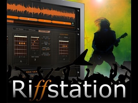 Riffstation Demo & Review - riff maker - get creative and rearrange riffs
