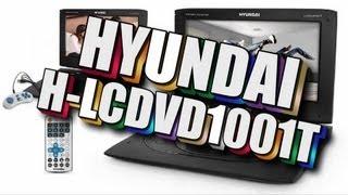 Обзор на HYUNDAI H-LCDVD1001T / Портативный DVD-Проигрыватель С ТВ-тюнером и 10.1
