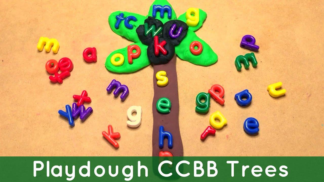 Playdough Chicka Chicka Boom Boom Trees For Preschool and ...