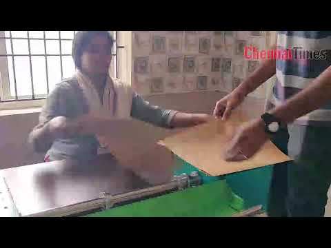 Paper bags making in chennai