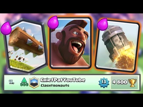 Thumbnail: Clash Royale - TOP 15 IN THE WORLD! Leaderboard Push