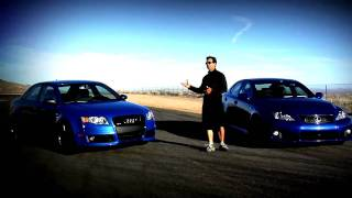 Shoot Out Lexus ISF VS. Audi RS4
