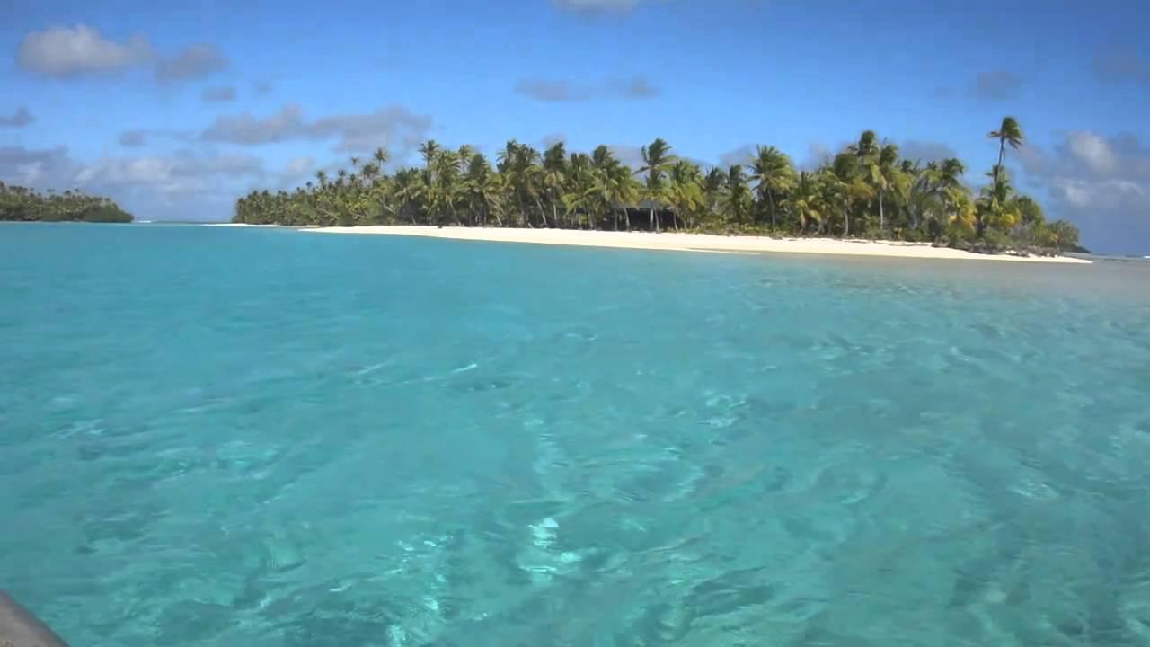 Aitutaki Ilhas Cook Passeio De Barco Pelas Ilhas Do