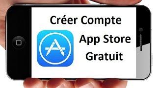 Comment créer un compte App Store Gratuit sur iPhone (iOS)