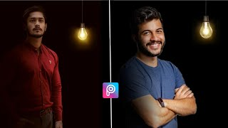 Dark Background Photo Editing - Creative Concept Photo Editing - Picsart Tutorial - Android Mobile