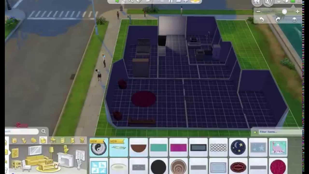 lets play sims 4 001 w nde einrichten und noch vieles mehr youtube. Black Bedroom Furniture Sets. Home Design Ideas
