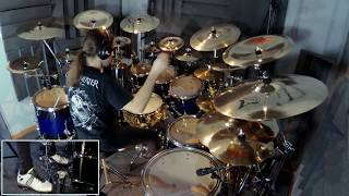 Dream Theater - As I Am (Drum Cover by Panos Geo)