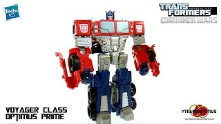 Video Review of the Transformers Combiner Wars: Voyager Class Optimus Prime