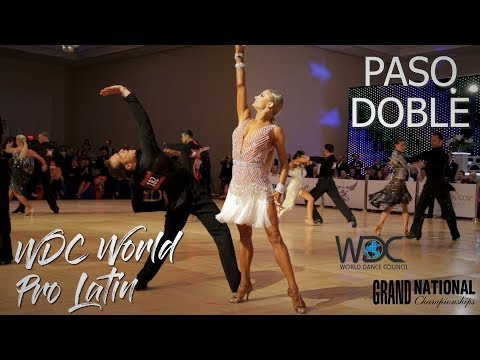 Paso Doble I WDC World Professional Latin 2019