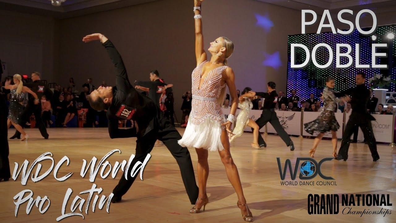 Paso Doble I WDC World Professional Latin 2019