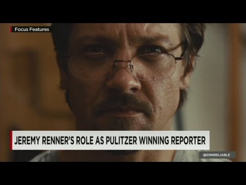 What playing a reporter taught Renner