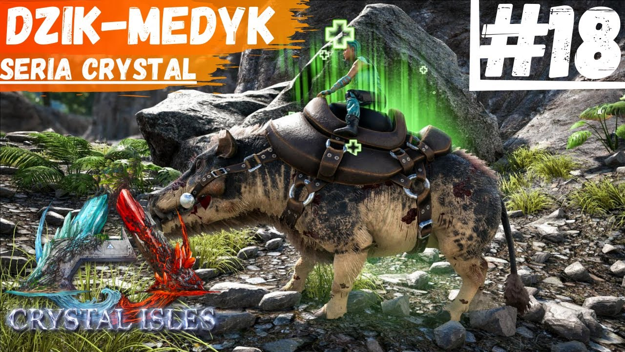 Dino Medyk Oswajamy Dzika Daeodon W Ark Survival Evolved Pl 18 Na Crystal Isles Youtube A message from studio wildcard confirms that the ark crystal isles map launch, and the new dino, will be launching on june 11, telling fans today dino medyk oswajamy dzika daeodon w ark survival evolved pl 18 na crystal isles
