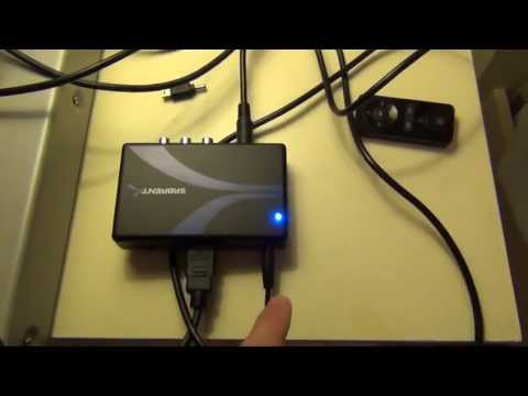Sabrent S Video & RCA to HDMI Converter and Scaler to 720 and 1080P