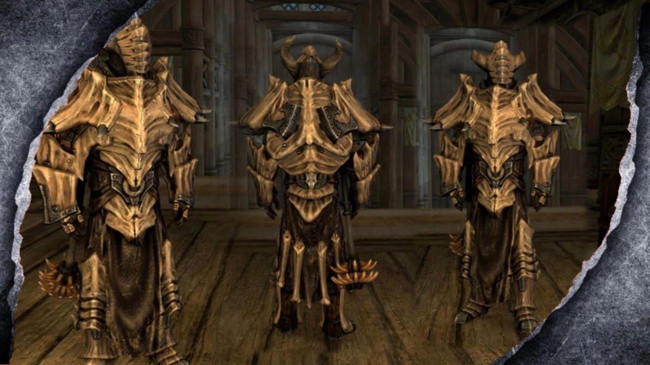 Skyrim Remastered Dragonplate Dreadnought Armor Mod Showcase Killerkev