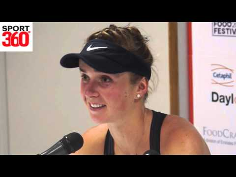 Elina Svitolina on the 'amazing experience' of working with new coaching consultant Justine Henin