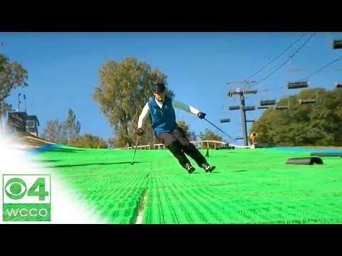 Ski Buck Hill's Synthetic Slopes!
