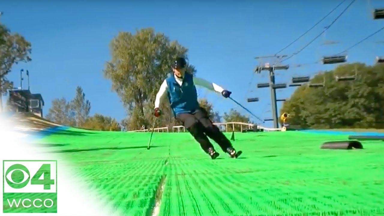 Ski Buck Hill S Synthetic Slopes Youtube