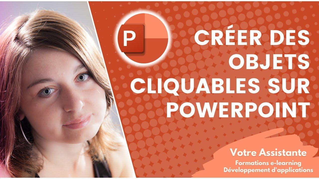 Comment Creer Des Objets Cliquables Sous Powerpoint Youtube
