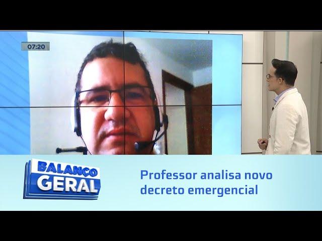 Observatorio da UFAL: Professor analisa novo decreto emergencial de combate ao novo Coronavírus