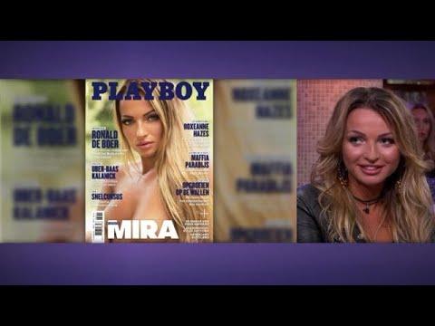 Gepeste Mira siert nu de cover van de Playboy - RTL LATE NIGHT