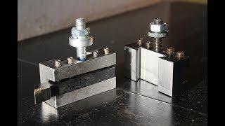 Costruzione cartella portautensili per tornio (homemade lathe tool holder)