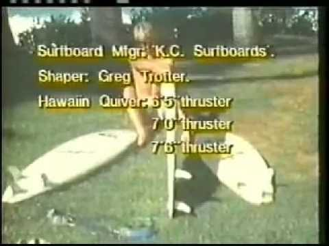Rare Surf Movie  -  THE PERFORMERS PART 1  1983 - 84