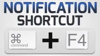 How to: Set a Keyboard Shortcut for Notification Center (OS X Mountain Lion)