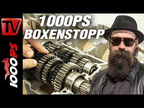 1000PS Boxenstopp - Laufleistung Motorrad - Magic Alois klärt auf.
